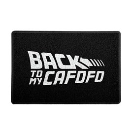 Capacho Back to My Cafofo Branco 0,40X0,60M - Beek