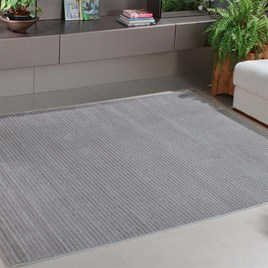 Tapete para Sala London 01 Prata 1,00X1,50M - Niazitex